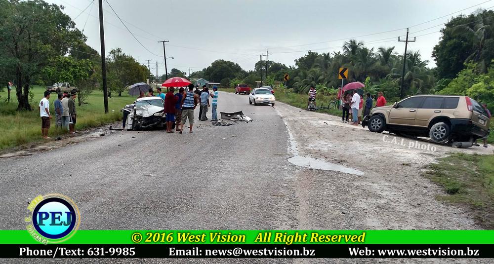 Man dies in road traffic accident in Corozal - Patrick E. Jones