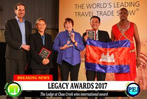 The Lodge at Chaa Creek wins Legacy Award