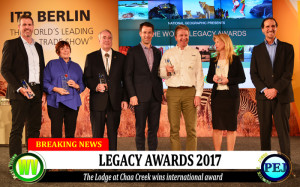 Legacy Award for The Lodge at Chaa Creek
