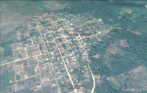Red Bank village, Stann Creek [Photo: Google Earth]