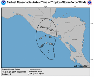 T..S. Selma [NHC graphic]