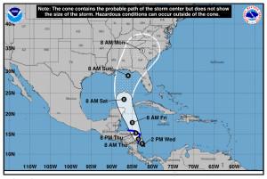 Tropical Depression 16 [NOAA photo]