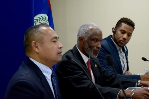CEO George Lovell led the Belize delegation to the meeting