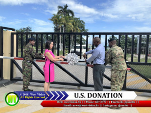 U.S. donation to Ministry of Defence